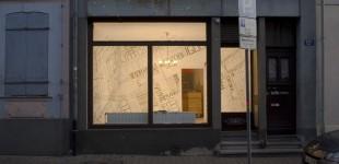 Überschriften - Rauminstallation 2012
